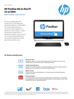 HP Pavilion All-in-One PC 23-p120nt