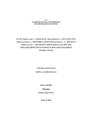 (Juglans regia L. ), KIZILAĞAÇ (Alnus glutinosa L.)