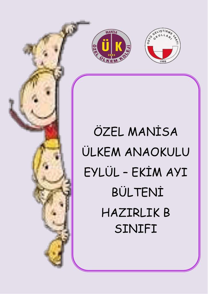 Ozel Manisa Ulkem Anaokulu Eylul Ekim