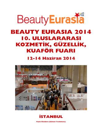 BEAUTY EURASIA 2014 10. ULUSLARARASI KOZMETİK