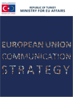 EUROPEAN UNION COMMUNICATION STRATEGY