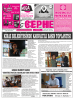 11.10.2014 Tarihli Cephe Gazetesi