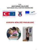 Projeler - Adıyaman İl Milli Eğitim Müdürlüğü
