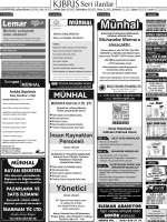 I®i LLi - Kıbrıs Gazetesi