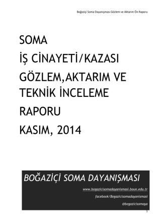 Bogazici Soma Dayanismasi Soma Raporu_Kasim 2014