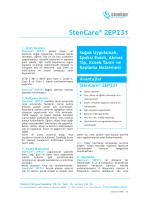 StenCare® 2EP231 - stenkim.com.tr