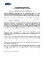 PDF dokümanını indir - TAV Yatırımcı İlişkileri