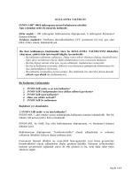 İnnovair 100/6 Aerosol İnhalasyon Çözeltisi KT