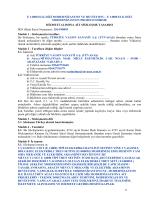 1 e 14000 elk dizi modernizasyon ve revizyonu