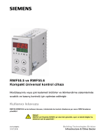 RWF55.5 ve RWF55.6 Kompakt üniversal kontrol cihazı