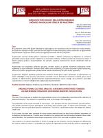 kurum kültürü analizi - Eğitim ve Öğretim Araştırmaları Dergisi