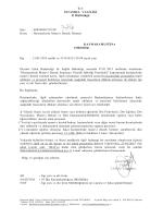 T.C İSTANBUL VALİLİĞİ İl Müftülüğü Sayı : 60958694/219.99/ Konu