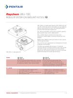 Jbu-100 - Pentair Thermal Controls