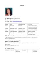 Yrd. Doç. Dr.Yazile SAYIN - Sağlık Bilimleri Fakültesi