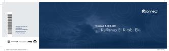 (WK) Radyo_TGW_Uconnect 8.4A-8.4AN Kullanım Kılavuzu
