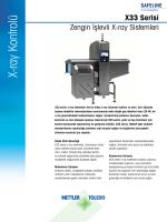 X-ray Kontrolü - METTLER TOLEDO
