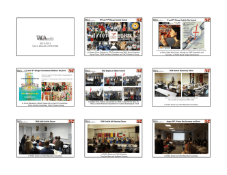 2012-2013 taca board activities - Turkish American Cultural Alliance