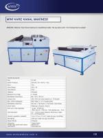 PDF Katalog - Sente Makina