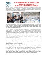 OTM 2014 - Textile Machinery Exhibition