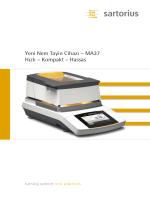Yeni Nem Tayin Cihazı – MA37 Hızlı – Kompakt