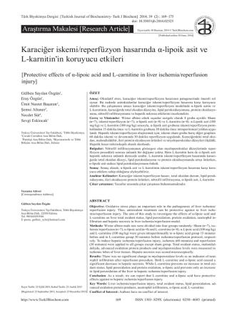 169-175 - türk biyokimya dergisi