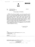 Avrupa Metroloji Araştırmaları Destekleri Bilgi Günü MUSTAFA KE