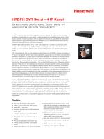 HRDPH DVR Serisi – 4 IP Kanal