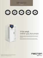 DP SERİSİ online güç koruması