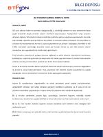 ISO Standartlarında ANNEX SL Yapısı