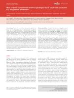Mide ve kolon kanserlerinde metastaz göstergesi olarak serum folat