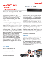 MAXPRO® NVR Hybrid XE (Xpress Sürüm)