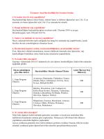Erasmus+ Staj Hareketliliği Sık Sorulan Sorular 1-Ne kadar
