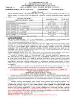 Bilgi Notu - İller İdaresi Genel Müdürlüğü