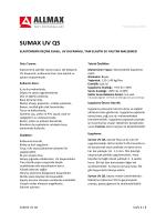 SUMAX UV Q5 - Allmax Yapı Kimyasalları