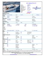 Ekipman ve Detaylar SATILIK 2013 ABSOLUTE 40 STY