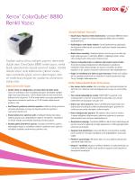 Xerox ColorQube 8880 Renkli Yazıcı