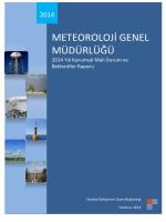 2014 başlangıç ödeneği - Meteoroloji Genel Müdürlüğü
