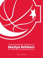 Medya Rehberi - Türkiye Basketbol Federasyonu