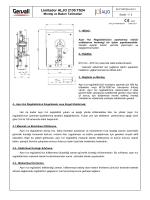 Ø300 Regülatör Teknik dökümanlarına erişmek için tıklayınız