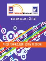 vergi teknolojileri eğitim programı