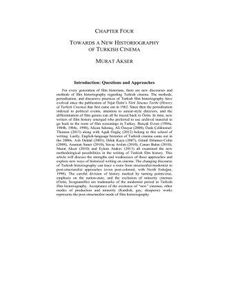 chapter four towards a new historiography of turkish
