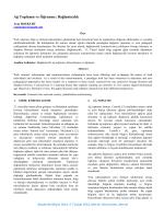 Ağ Toplumu ve Öğrenme - Akademik Bilişim Konferansları