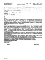 HESAP REHNİ SÖZLEŞMESİ İşbu sözleşme, taraflar (Banka ile