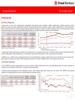 25 Aralık 2014 tarihli piyasa yorumu