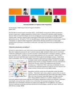 Teknoloji Şirketleri ve Topluma Katkı Programları Sevda Kılıçalp