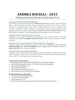 andrea bocellı - 2015