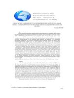 Göksu Nehri Vadisinin Flüvyal Jeomorfolojisi (Mut