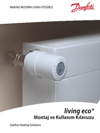 Danfoss Zaman Ayarlı Termostatik Radyatör Vanası
