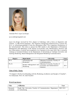 Ayca Can Kırgız - international journal of communication and health