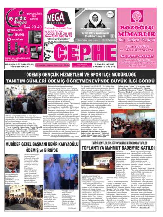 22.12.2014 Tarihli Cephe Gazetesi
